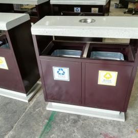 定制特色垃圾桶 分类果皮箱 钢板垃圾桶厂家 景区垃圾桶