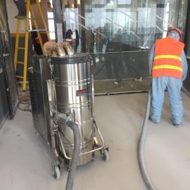 阀门铸造厂地面用大功率工业吸尘器C007AI吸铁屑粉尘用吸尘机