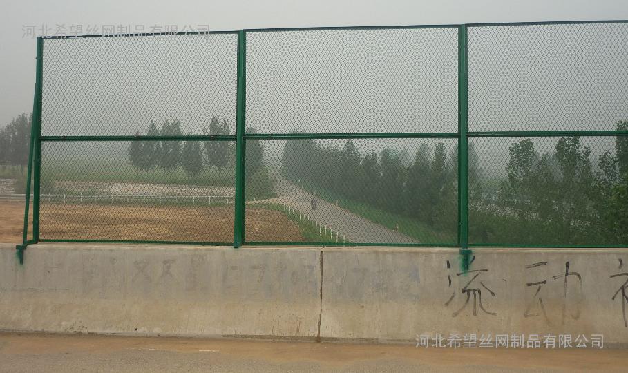 桥梁护栏网 防抛网 桥梁栏杆