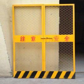 莱邦供应施工电梯防护门 电梯洞口防护网 厂家直销框架护栏