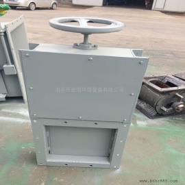 手动方形插板阀 手动方型闸阀 插板闸阀厂家直供