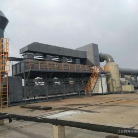 喷漆房废气处理工艺催化燃烧设备