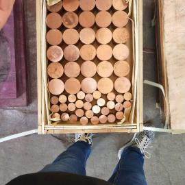 高品种T2紫铜圆棒天津现货价格低,切割零售