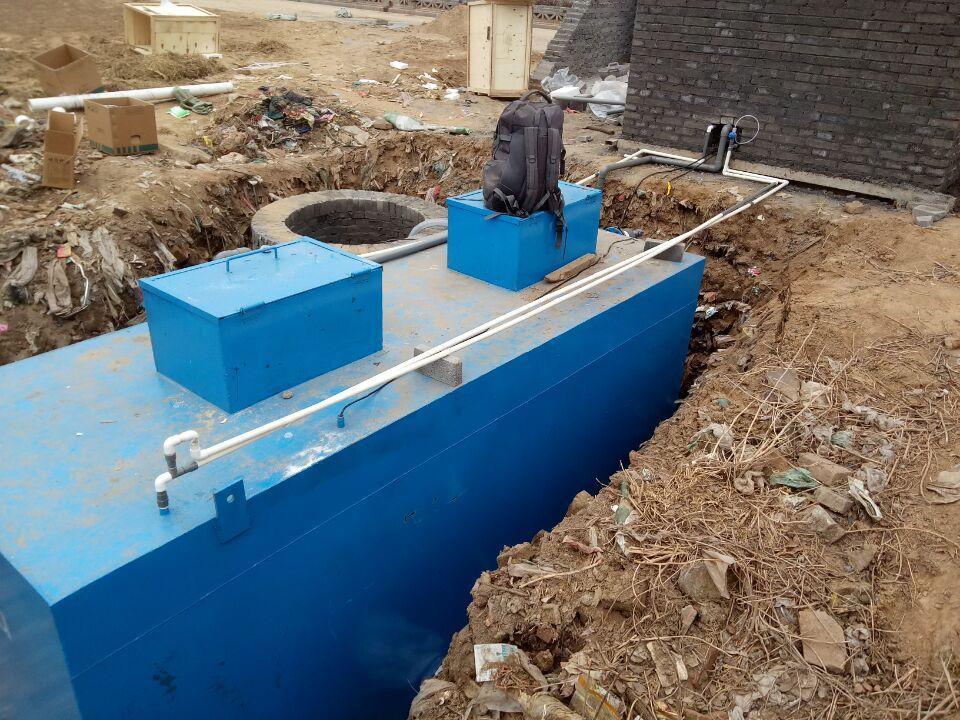 地埋式一体化污水处理设备材质-玻璃钢污水处理设备寿命