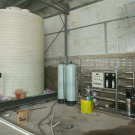 30吨pe沉淀水箱,污水处理原水沉淀水箱