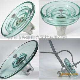 地线型U100C/200盘型悬式玻璃绝缘子厂家生产