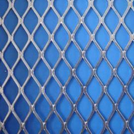 供应河南轧平钢板网价格@菱形孔钢板网图片@美观大方防滑耐磨