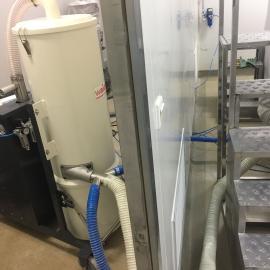 威德尔脉冲反吹工业吸尘器 化工厂车间大量粉尘清灰吸尘机WX75F