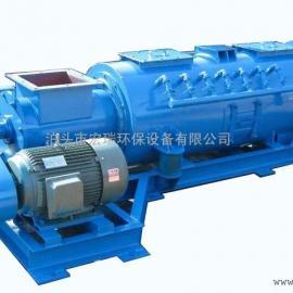 漯河专业生产粉尘加湿机 双轴60粉尘搅拌加湿机 环保高效