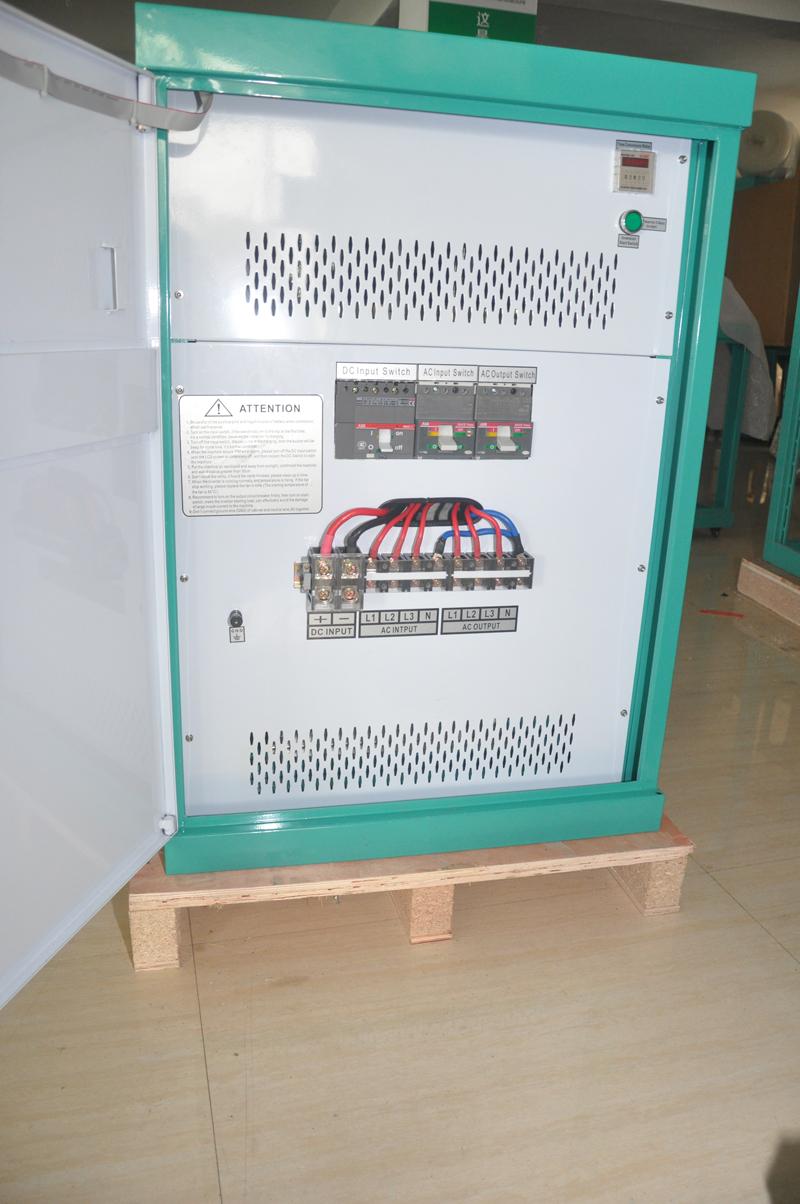 220V转380V电源转换器/单相转三相逆变器20KW