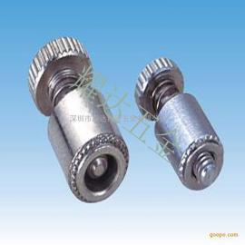 弹簧螺钉PFK-M3-40/62/84螺钉 伞头一字螺钉松不脱304螺丝