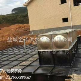 抗浮式箱泵一体化消防增压供水设备