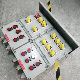 锅炉房粉尘防爆配电箱 5.5kw风机防爆配电箱