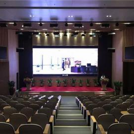 商务培训大厅安装高清分辨率LED彩色大屏制作厂家