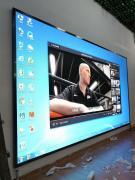 LED拼接电视大屏/高清晰视频震撼效果大彩屏安装
