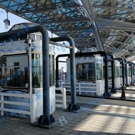 广西公路收费亭制作安装,柳百高速不锈钢收费亭设计制作工程