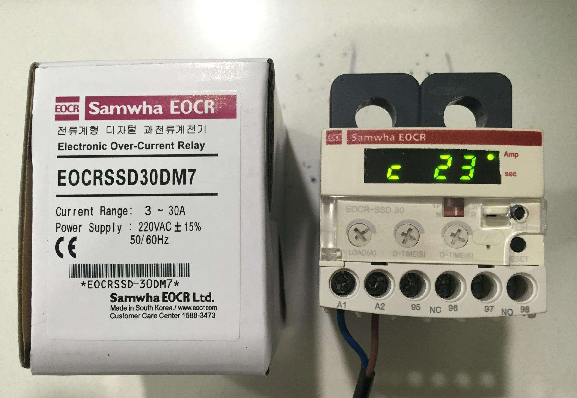 朔城供应三和电动机保护器EOCR-SS 5-70A_保护器