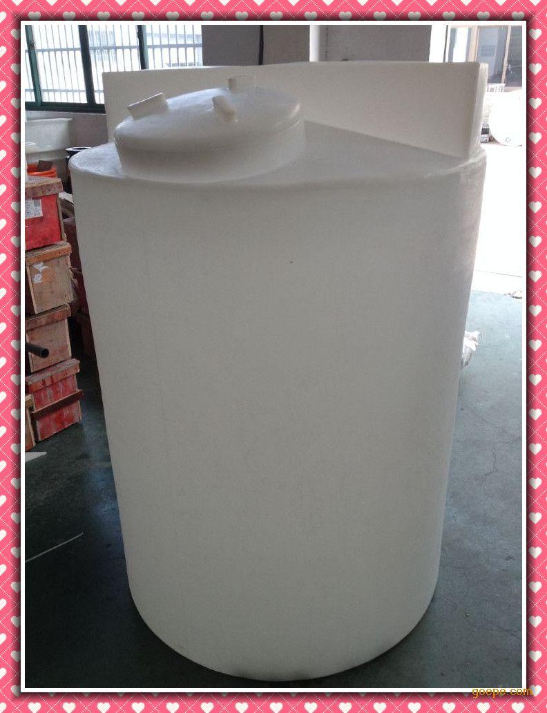 加药桶 500L塑料搅拌罐PE盐箱加厚款式水处理药剂桶