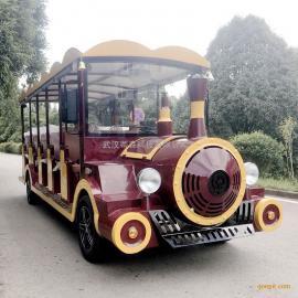 蒂森14座电动观光车14座电动观光小火车