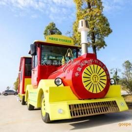旅游景区40座燃油观光小火车电动观光小火车