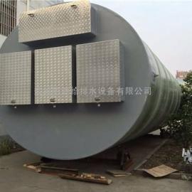 四川成都一体化预制泵站农村排污