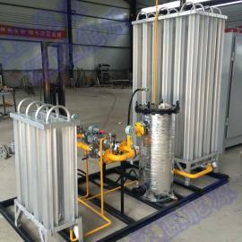 50Nm3/h小型lng减压撬 lng气化调压柜