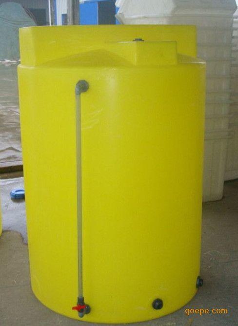 2000L外加剂搅拌罐 2立方塑料PE加药箱 耐酸碱化工储罐