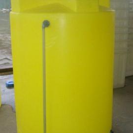 2吨搅拌罐 锥底塑料桶 搅拌外加剂复配罐