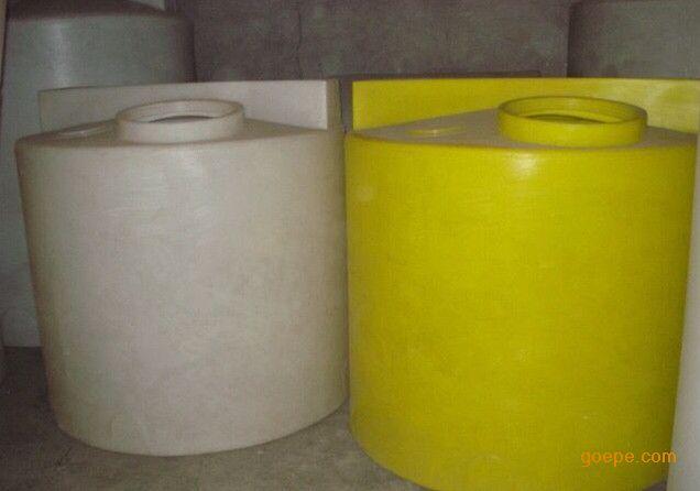 2吨加药箱 pe圆柱形塑料桶 2吨搅拌桶 加厚塑料桶可配搅拌机