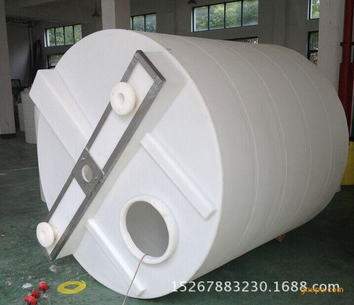 5000升加药箱塑料桶5吨搅拌加药桶耐酸碱搅拌桶配电机2.2KW