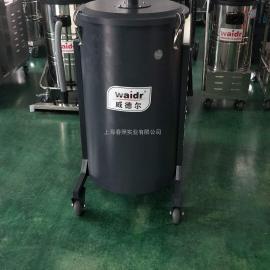 纺织行业用工业吸尘器 3KW移动式吸飞绒纤维纸屑用干式吸尘机