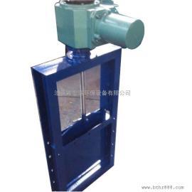 河北气动插板阀厂家 气动插板阀哪便宜 不锈钢粉料插板阀价格