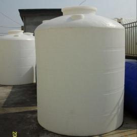 直销5000L大型塑料桶 PE塑料水塔塑料储罐 5吨塑料桶水塔批发