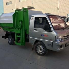 厂家直销的小型挂桶式垃圾车多少钱
