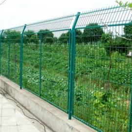 莱邦供应铁路防护栅栏 高速铁路封闭护栏 铁路框架护栏墨绿色