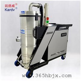 凯德威SK-810大功率吸尘器100L上下桶5.5KW三相电工业吸尘器