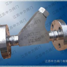 304 316L不锈钢/双相钢/哈氏合金Y型高压锻钢过滤器