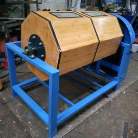 精富工厂现货直销300L干式竹制滚筒镜面效果研磨机干抛机溜光机