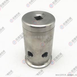 白口铁呼吸阀 真空排气阀 负压阀 减压阀卫生级快装式 绷簧