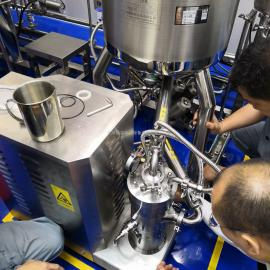 凡士林膏剂管线式三级均质乳化机