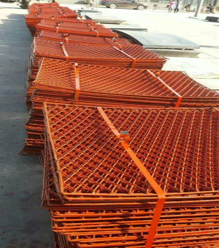 新式建筑脚手架专用钢笆网片 工人施工菱形踏板-规格列表