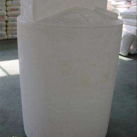 供应500L药剂桶 加药箱 塑料搅拌罐 500L立式搅拌桶可配搅拌机