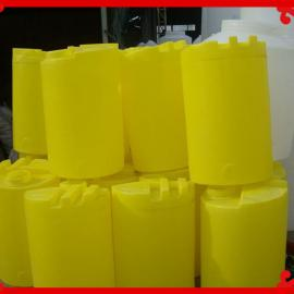 300L圆形加厚pe塑料搅拌加药箱 300升污水搅拌桶