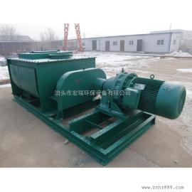 东营双轴粉尘加湿搅拌机厂家 SJ-60双轴螺旋搅拌加湿机型号