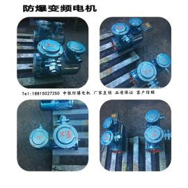 550W国标全铜线防爆电动机 YBVF-801-4 0.55KW变频防爆电机