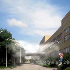 太原建筑工地楼层外架喷淋喷雾围挡塔吊喷淋