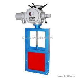河南电动方形插板阀厂家 插板闸阀型号规格可定制