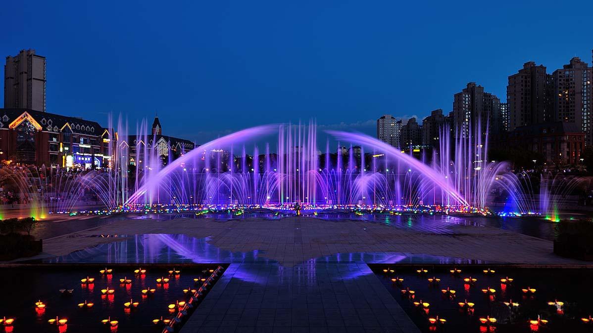 湖南大型音乐喷泉安装湖南大型音乐喷泉施工