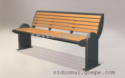 实木公园椅制造商、塑木园林椅定制企业、全国送货上门