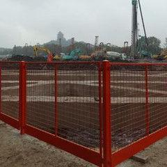 基坑临边围栏网 基坑临边防护栏 基坑临边防护栏 莱邦丝网